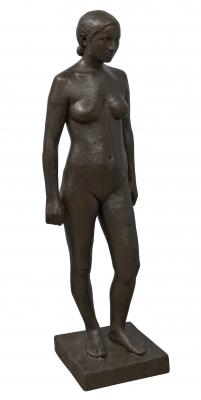 """Joan Rebull i Torroja (Reus, 1899 – Barcelona, 1981).""""Mujer desnuda""""."""