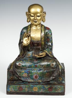 Figura de Buda. China, primera mitad del siglo XX.