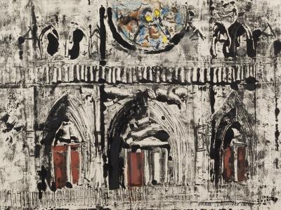 """""""Notre Dame"""", París. José Lapayese del Río"""