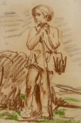 """""""Boceto de figura"""" PORCAR RIPOLLÉS, Juan Bautista"""