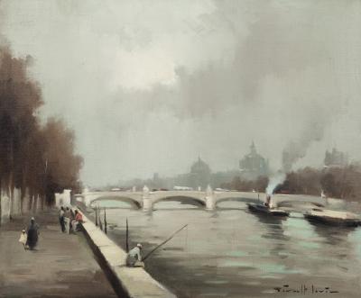 """Escena de París"".  GIRALT LERIN, Joan"