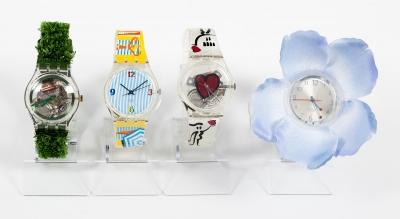 Conjunto de cuatro relojes SWATCH Edición coleccionista