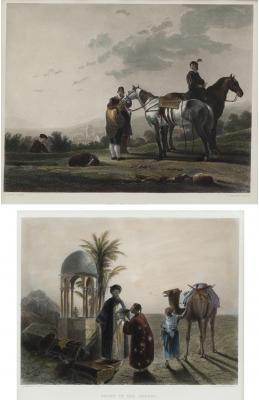 """""""Soldados a caballo"""" Escuela holandesa e inglesa del si"""