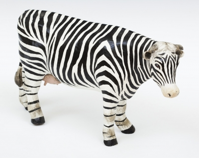 """Vaca """"cebra"""". FELIPE, Antonio de"""