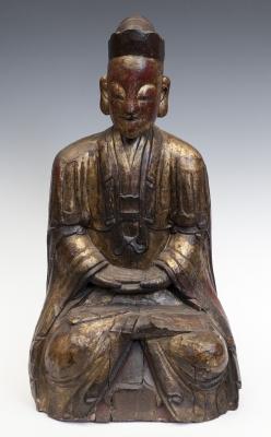 Figura masculina. China, siglo XIX.