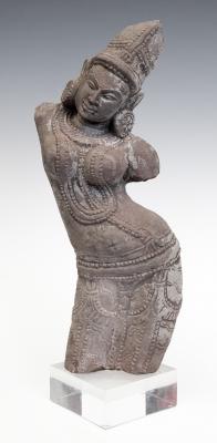 Figura de diosa. India, siglo XX.