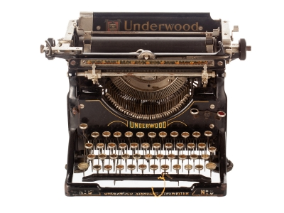 Máquina de escribir Underwood Nº 5.
