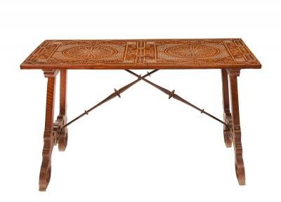 Mesa aragonés del siglo XVI.