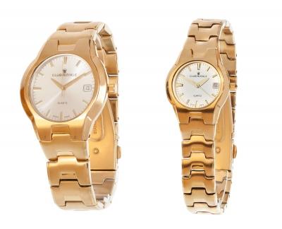 Relojes hombre y mujer Club Royale, n.667431. 667412.