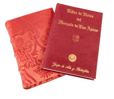 Facsímil del Libro de Horas del Marqués de Dos Aguas, Fundación Bartolomé March, Mallorca, ms. 103-V 1-3.