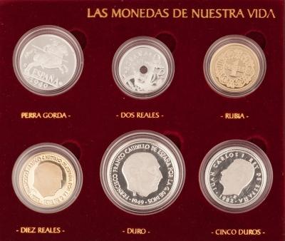 """Lote monedas coleccion """"Las Monedas de Nuestra Vida"""""""