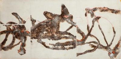 """Combustione"". Marco Nereo Rotelli (Italia, 1955)."