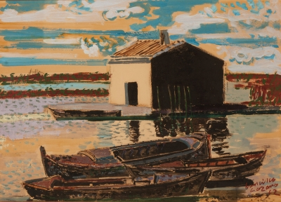 """""""Barcas""""., Francisco Lozano"""