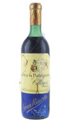 Botella de Federico Paternina Gran Reserva 1928.