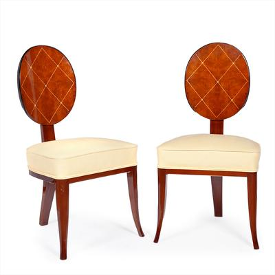 Pair of Art Deco style chairs,