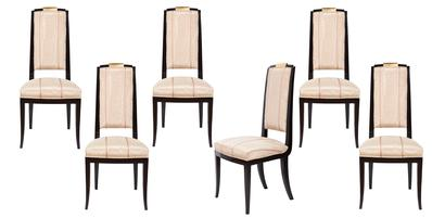 Design chairs, Art Deco style,
