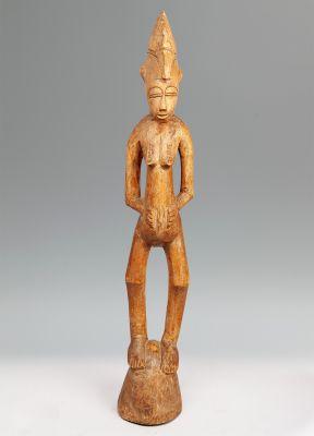 Deble de la tribu africana senufo.