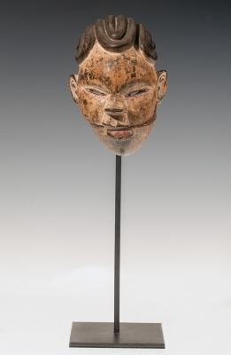 Máscara del pueblo Ogoni. Nigeria, finales del siglo XIX- principios del siglo XX.