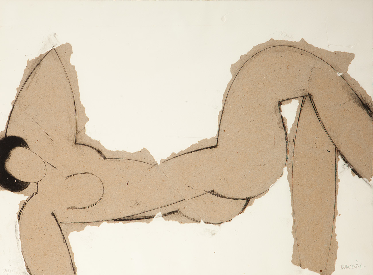 """""""Matisse como pretexto"""". Manolo Valdés Blasco (Valencia, 1942)."""