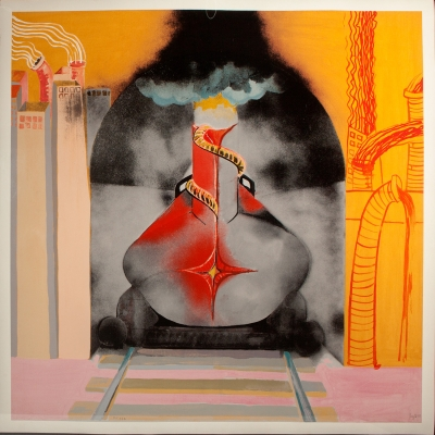 """Explosión fálica"", 2008. Miquel Navarro, (Mislata, Valencia, 1945)."