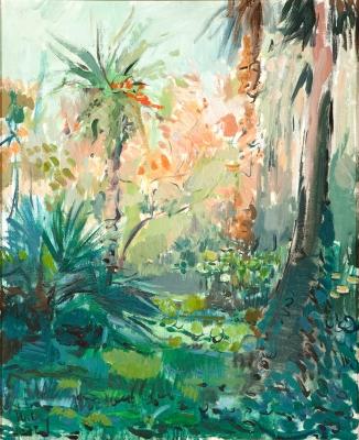 """Jardin II"", 1972., Willy Ramos (Colombia, 1954)."