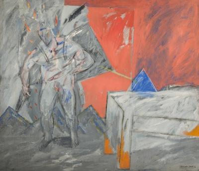 Sin título. , Horacio Silva Sebastian (Valencia, 1950).