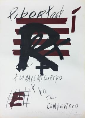 """""""Libertad"""", 1976. Antoni Tàpies Puig"""