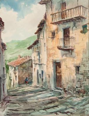 """""""Sin título"""". 1971. José Estellés Herrero, (Valencia, 1929 - 2005)."""