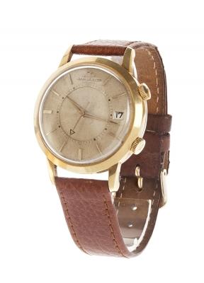 Reloj Jaeger-Le Coultre Jumbo Memovox ref. E855, en oro amarillo para caballero, ca.