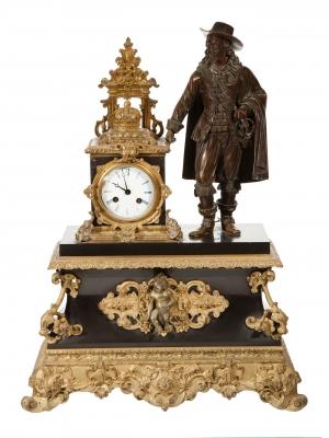 Reloj de sobremesa Napoleón III