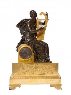 Reloj de sobremesa Luis Felipe; Francia, hacia 1840.