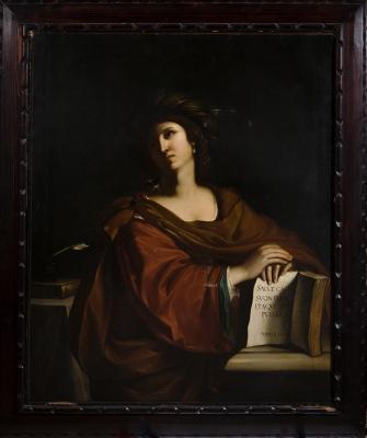 """""""Sybilla Samia"""". Taller de """"Il Guercino"""", Siglo XVII."""