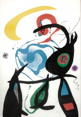 """""""Oda a Joan Miró"""", 1973."""