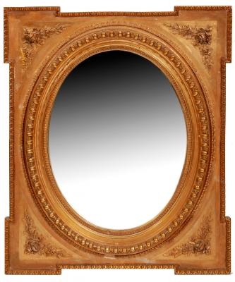 Espejo neoclásico. Finales del siglo XIX.