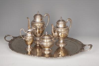 Juego de té, principios del siglo XX.