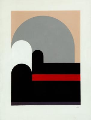 """""""ANZO""""; IRANZO ALMONACID (Utiel, Valencia, 1931 – 2006).Sin título."""