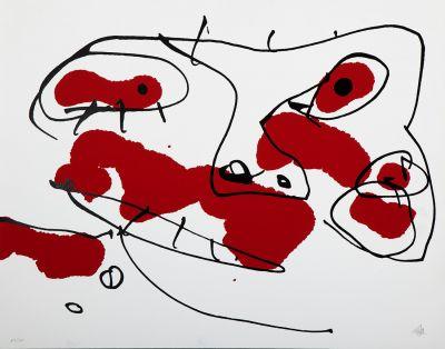 """ANTONIO SAURA, (Huesca, 1930 – Cuenca, 1998).""""No title""""."""