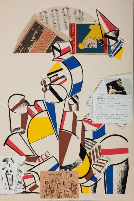 """MANOLO VALDÉS BLASCO, (Valencia, 1942).""""Mariana"""", 1982."""