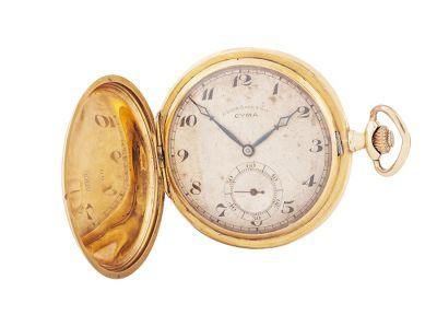 """Reloj de bolsillo CYMA, """"Cronómetro"""" n. 7068309-8."""