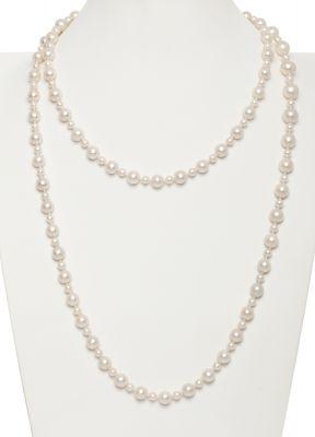 600556dba0d4 Collar formado por un hilo de perlas Australianas blancas