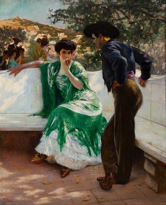 PIERRE RIBERA (Madrid, 1867-Paris, 1932).