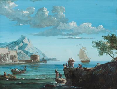 Escuela francesa de finales del siglo XVIII.
