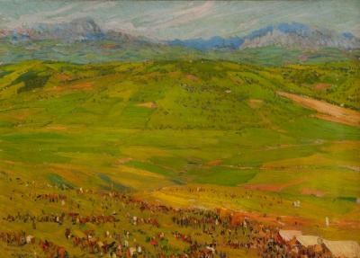 """Feria del valle de Andalucía"" MARIANO BERTUCHI"