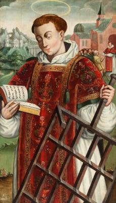 """San Lorenzo"". Escuela española del siglo XVI."