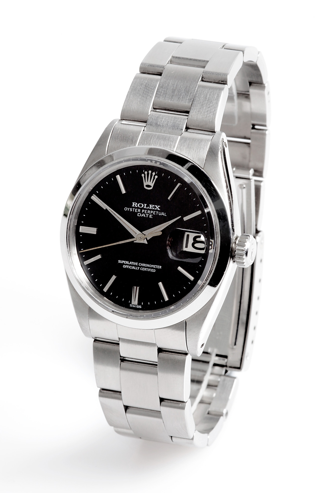 Rolex Oyster Perpetual Negro