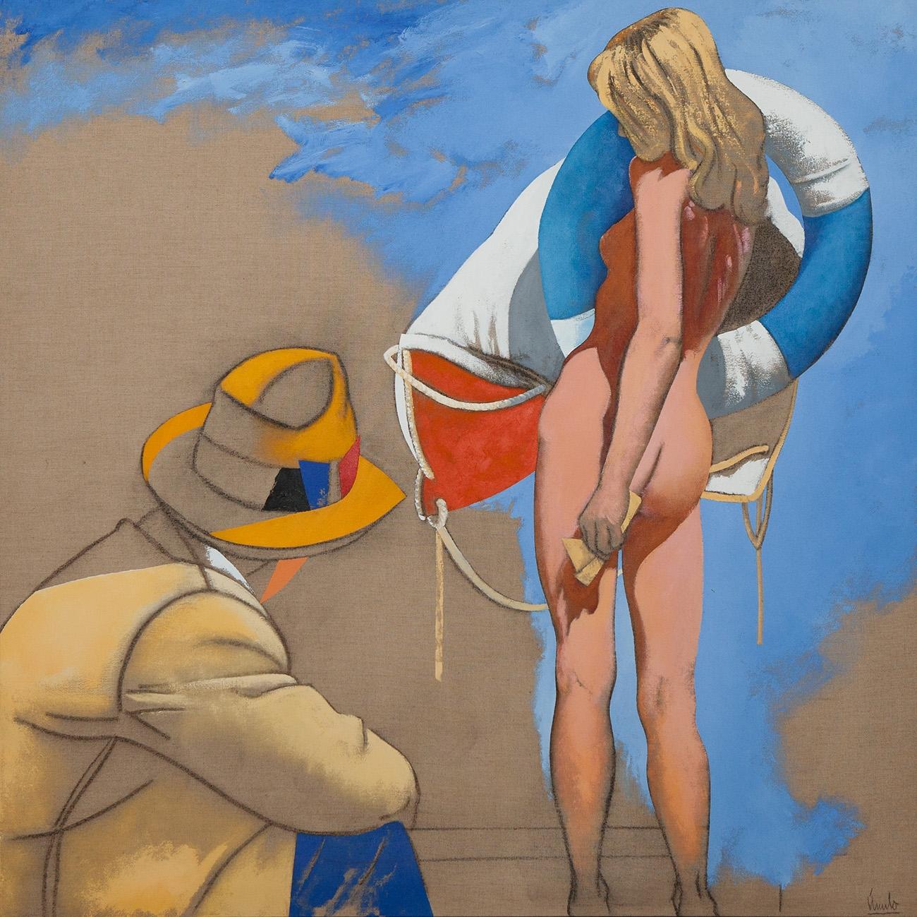 """""""El pintor"""". 1996."""