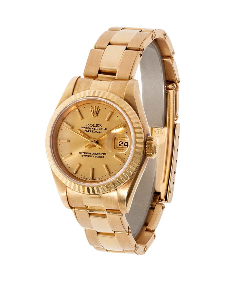 Reloj ROLEX mod. Oyster Perpetual Datejust Superlative Chronometer Officially Certified, para señora.