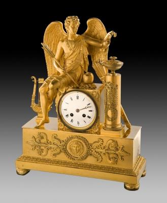 Reloj Imperio; Francia, hacia 1820-25.