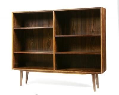 Librería de diseño danés, años 60. Palosanto