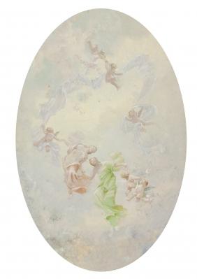 """Coro celestial"". SALA FRANCÉS, Emilio"